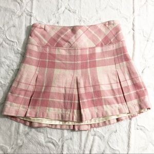 5/$25 • Old Navy • Pink Plaid Skirt